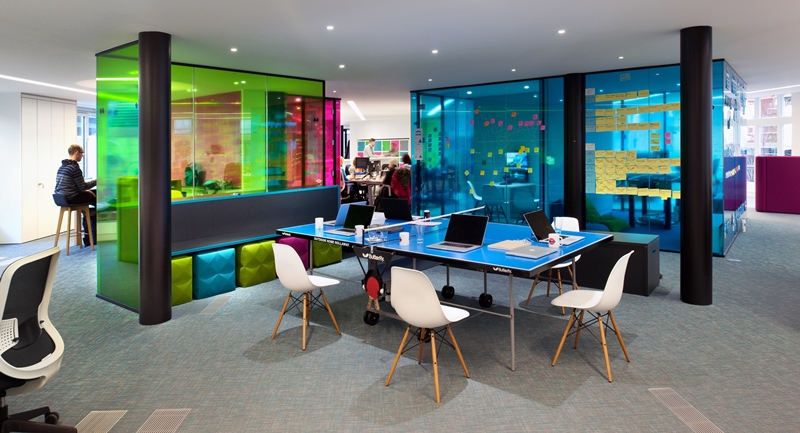 The evolution of office design morgan lovell for Office design meaning