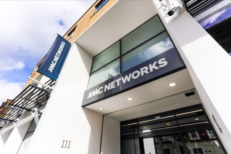 AMC Networks logos on the office exterior