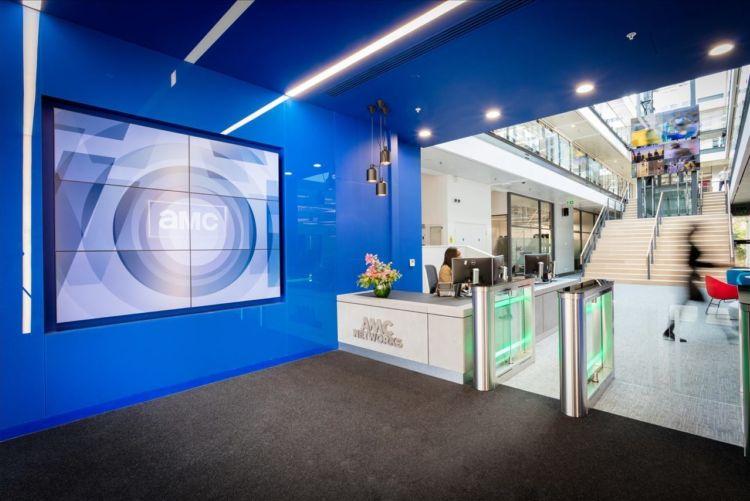 AMC Networks office reception in London, United Kingdom