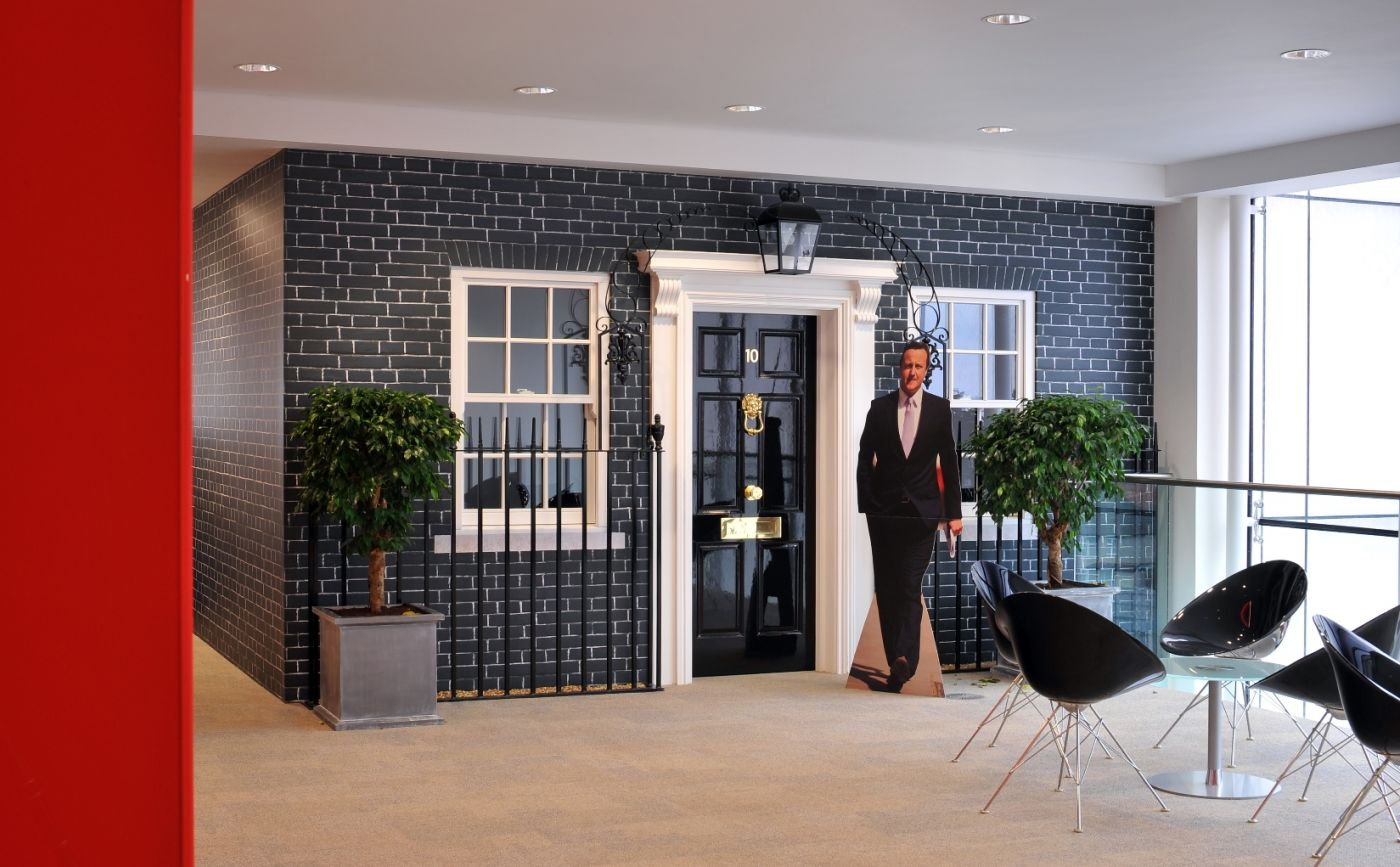 Number 10 Downing Street Floor Plan Inside Rackspace S London Office Design And Fit Out