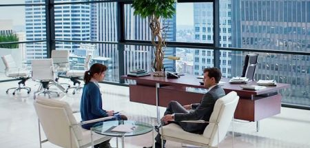 Fifty Shades of Grey - office shot